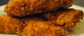 Parmesan-Pecan Fried Catfish