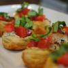 Bite-Size Tomato and Pesto Pastries