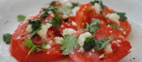 """South of the Border"" Caprese Salad"