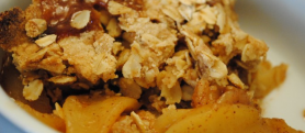 Cook With Your Kids : Apple Crumble