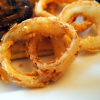 Cornmeal Fried Onion Rings