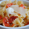 Pasta Salad with Tomatoes and Parmesan