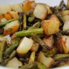 Tater and Asparagus Toss