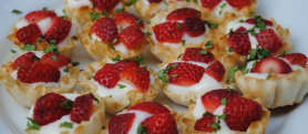 Sweet Cream Berry Tartlets