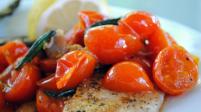 Pan-Fried Tilapia with Tomato Basil Saute