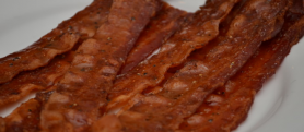 Maple-Dijon Glazed Bacon