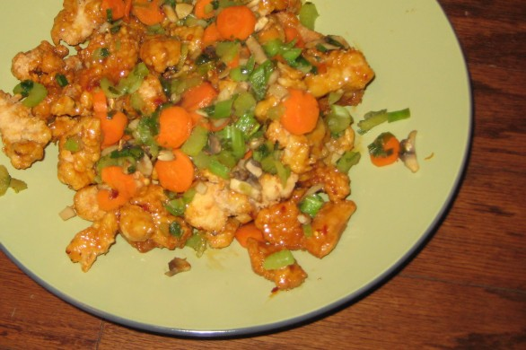 Sunny Anderson's General Tso's Chicken