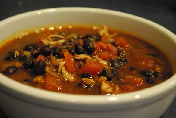 Chicken and Black Bean Chili « The Red Bird Life