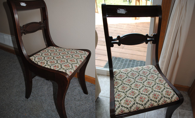 Painting Dining Chairs With White Paint