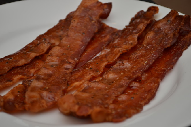 maple dijon glazed bacon